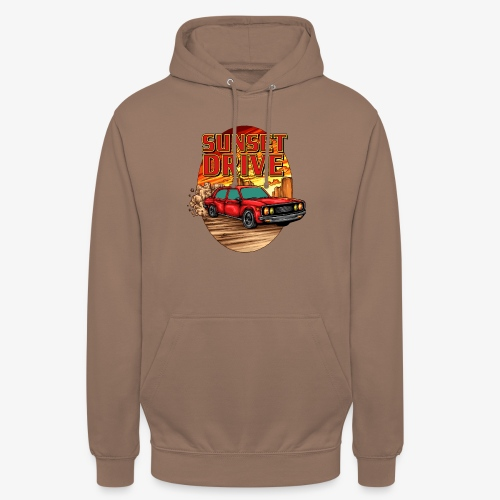 Sunset Drive - Sweat-shirt à capuche unisexe