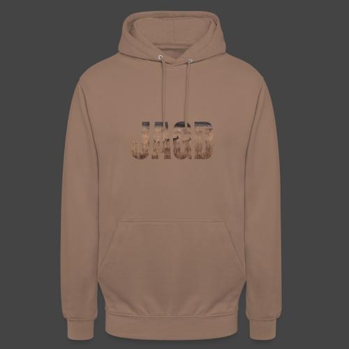 JAGD-Shirt für Jäger/innen, Motiv Moorjagd - Unisex Hoodie