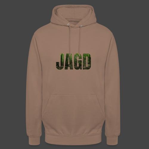 JAGD-Shirt für Jäger/innen, Motiv Wald - Unisex Hoodie