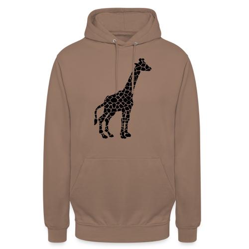"""Giraffe (black) - Huppari """"unisex"""""""
