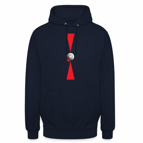 Petanque Minimalisme - Sweat-shirt à capuche unisexe