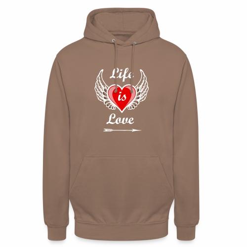 Life is Love - Unisex Hoodie