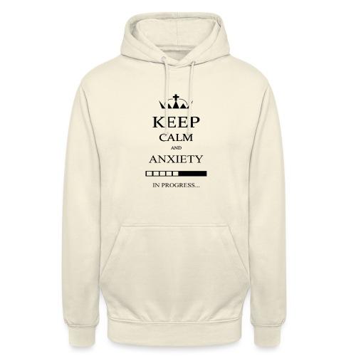 keep_calm - Felpa con cappuccio unisex