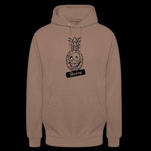 Design Ananas Heavy - Sweat-shirt à capuche unisexe