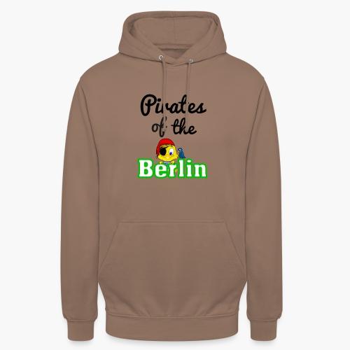 Pirates of the Berlin (schriftzug schwarz) - Unisex Hoodie