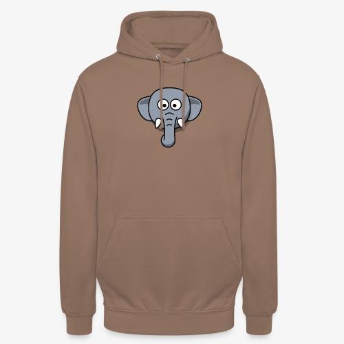 elephant - Felpa con cappuccio unisex