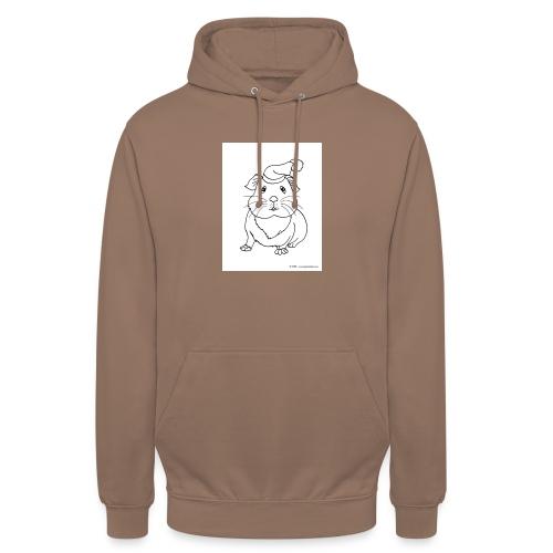 Hamster petite souris blanche guinea - Sweat-shirt à capuche unisexe