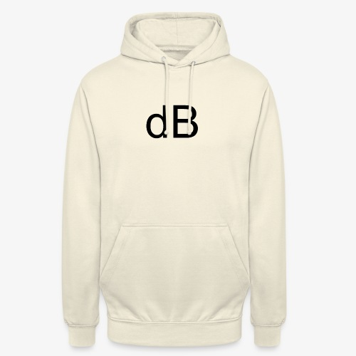 dB DAVID B. - Felpa con cappuccio unisex