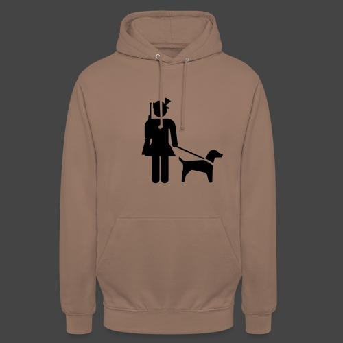 """Hundeführerin""-Jägerinnen Shirt - Unisex Hoodie"