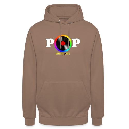 Collection POP - Sweat-shirt à capuche unisexe