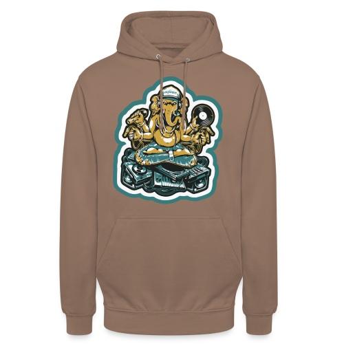 Elefant Ganesha Logo - Hættetrøje unisex