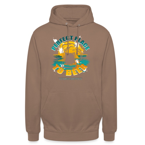 a perfect place to beer - Unisex Hoodie