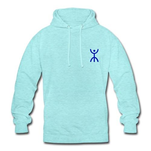 énana bleu - Sweat-shirt à capuche unisexe