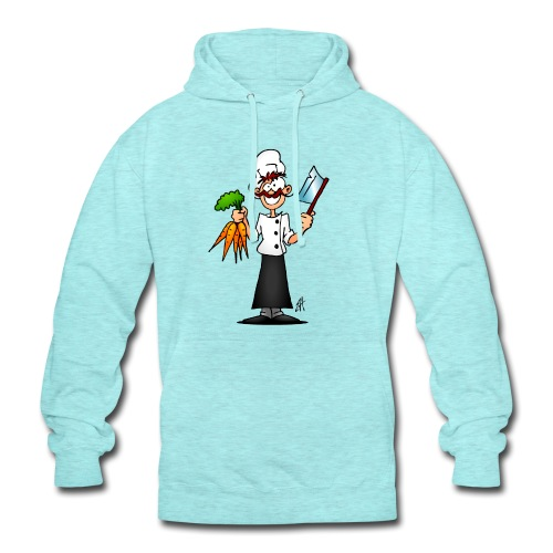 The vegetarian chef - Unisex Hoodie