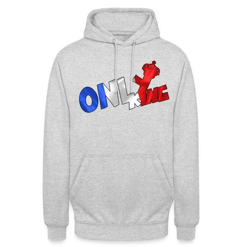Logo ONLY KING edition francaise - Sweat-shirt à capuche unisexe