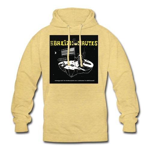 Un breizhonaute - Sweat-shirt à capuche unisexe