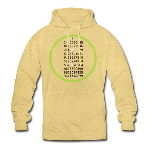 "Number Pi Green Circle - Huppari ""unisex"""