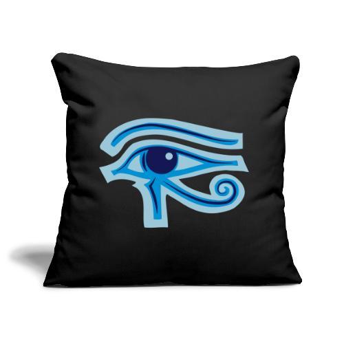 Ägypten-Auge des Horus - Sofakissenbezug 44 x 44 cm