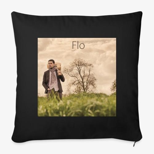 FLO - Moi, je dis - Housse de coussin décorative 44x 44cm