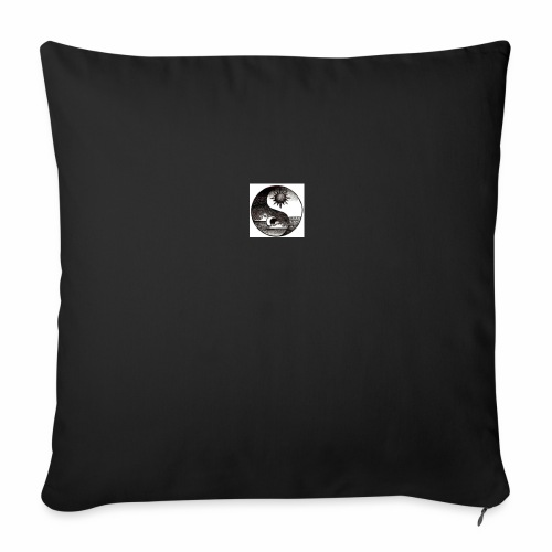 SUN AND MOON - Sofa pillow cover 44 x 44 cm