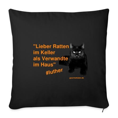 Luther-Zitat - Sofakissenbezug 44 x 44 cm
