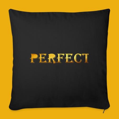 perfect metalic gold merch - Sofa pillow cover 44 x 44 cm