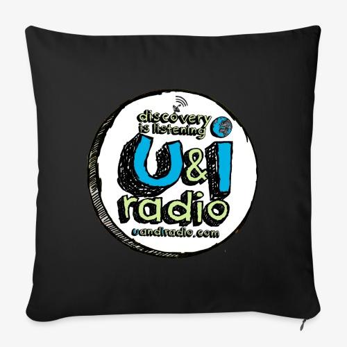 U & I Logo - Sofa pillow cover 44 x 44 cm