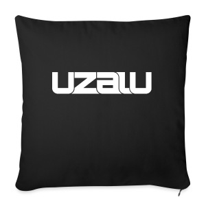 uzalu - White - Sofa pillow cover 44 x 44 cm