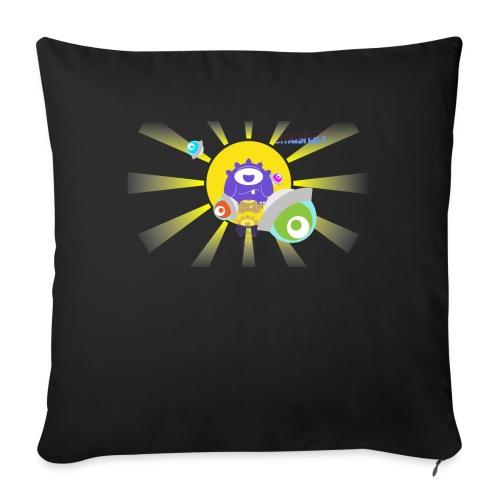 SmashET game intro design - Sofa pillow cover 44 x 44 cm