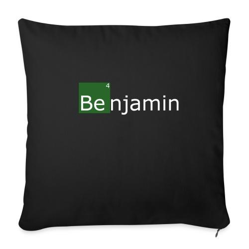 benjamin - Housse de coussin décorative 44x 44cm