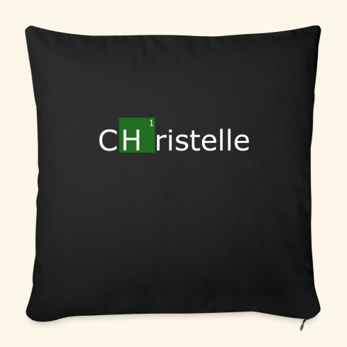 christelle - Housse de coussin décorative 44x 44cm