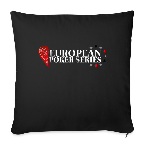 European Poker Series - Housse de coussin décorative 44x 44cm