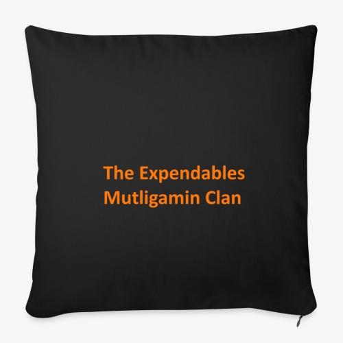 The Expendables Multigaming Clan Schriftzug - Sofakissenbezug 44 x 44 cm