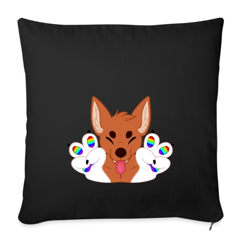 Magic's Gay Peace Fingers - Sofa pillow cover 44 x 44 cm