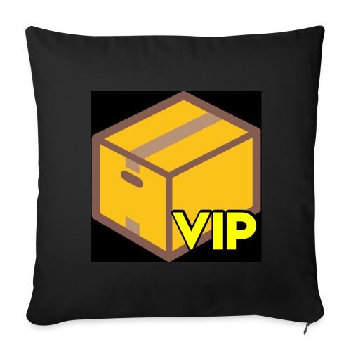 Collection The Box VIP - Housse de coussin décorative 44x 44cm