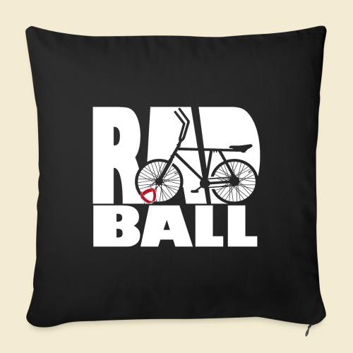Radball | Typo - Sofakissenbezug 44 x 44 cm