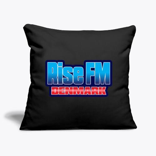 Rise FM Denmark Text Only Logo - Pudebetræk 44 x 44 cm
