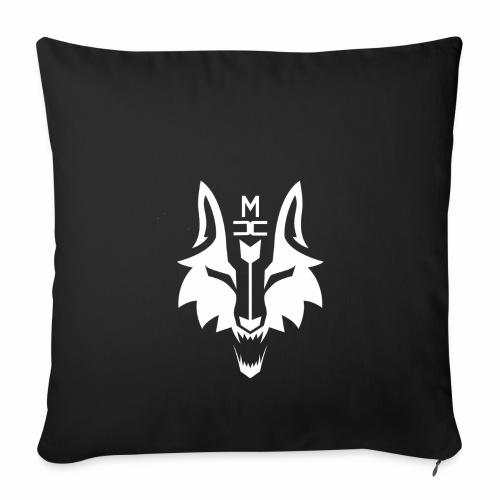 MCW - Metacorewolves logo weiß - Sofakissenbezug 44 x 44 cm