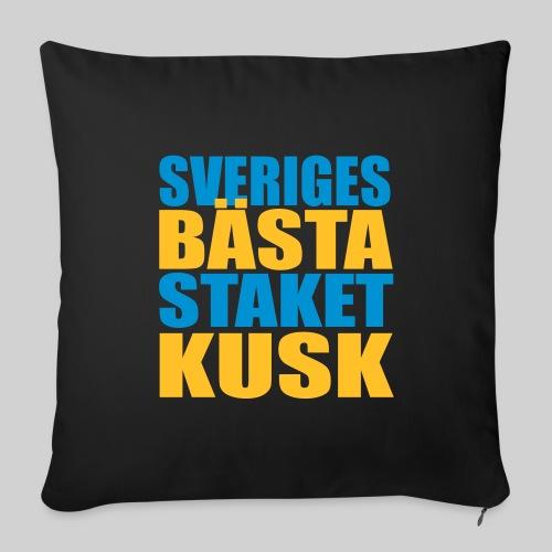 Sveriges bästa staketkusk! - Soffkuddsöverdrag, 44 x 44 cm