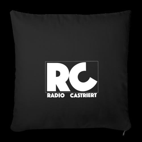 Radio CASTriert Logo 2017/2018 - Sofakissenbezug 44 x 44 cm