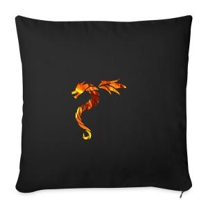 dragon fire 2 - Housse de coussin décorative 44x 44cm
