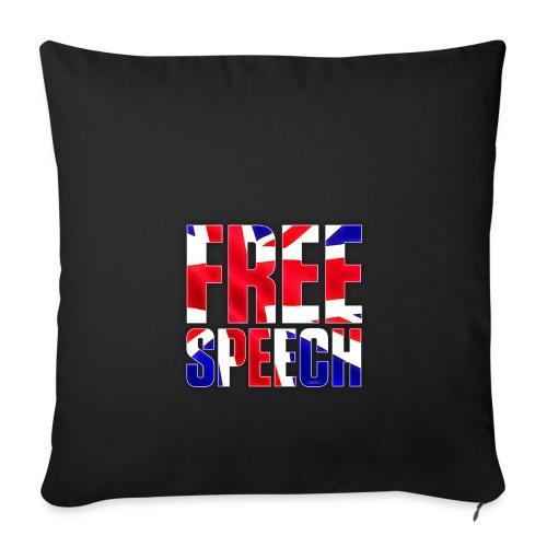 Free Speech UK Alt.1 - Sofa pillow cover 44 x 44 cm