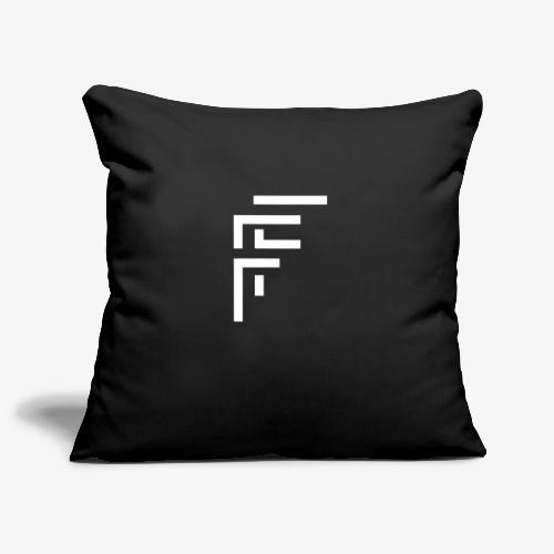 Block Style Logo - Sofa pillow cover 44 x 44 cm