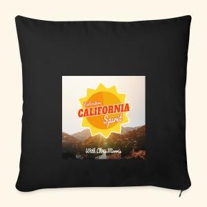 California Spirit Radioshow LA - Housse de coussin décorative 44x 44cm