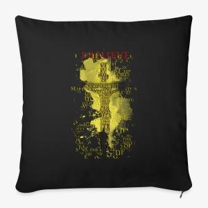 I believe / wierzę (yellow-żółty) - Poszewka na poduszkę 44 x 44 cm