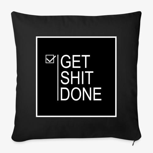 Get Shit Done - Funda de cojín, 44 x 44 cm