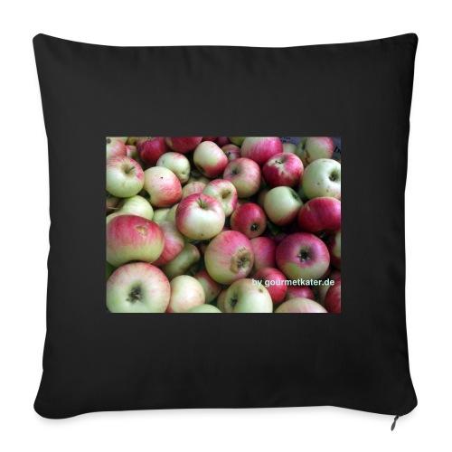 Äpfel - Sofakissenbezug 44 x 44 cm