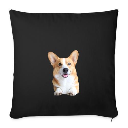 Topi the Corgi - Frontview - Sofa pillow cover 44 x 44 cm