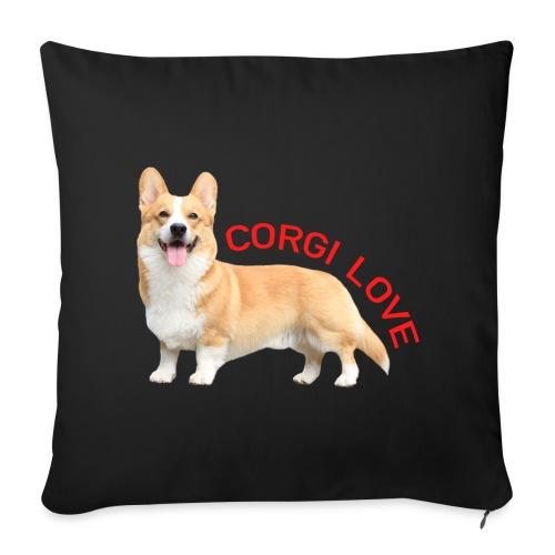 CorgiLove - Sofa pillow cover 44 x 44 cm
