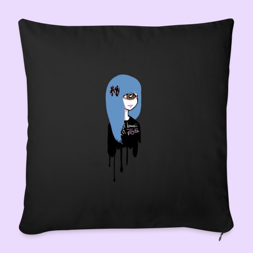 Not Kawaii, Just Psycho Girl - Sofa pillow cover 44 x 44 cm